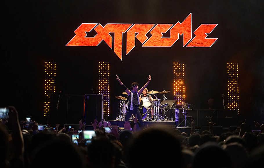 Konser Band Extreme di Indonesia Tahun Ini