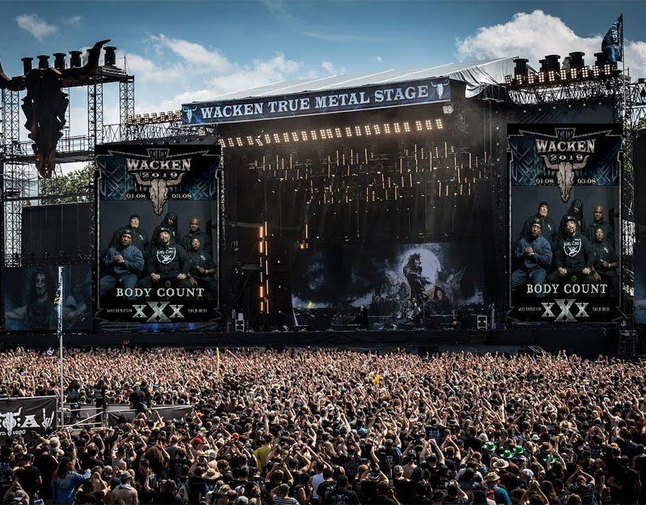 Konser Musik Metal di Festival Musik Eropa 2019