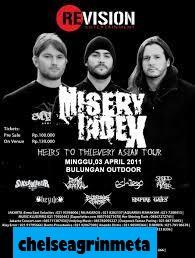 Band Metal Amerika Misery Index Gelar tour di Makassar