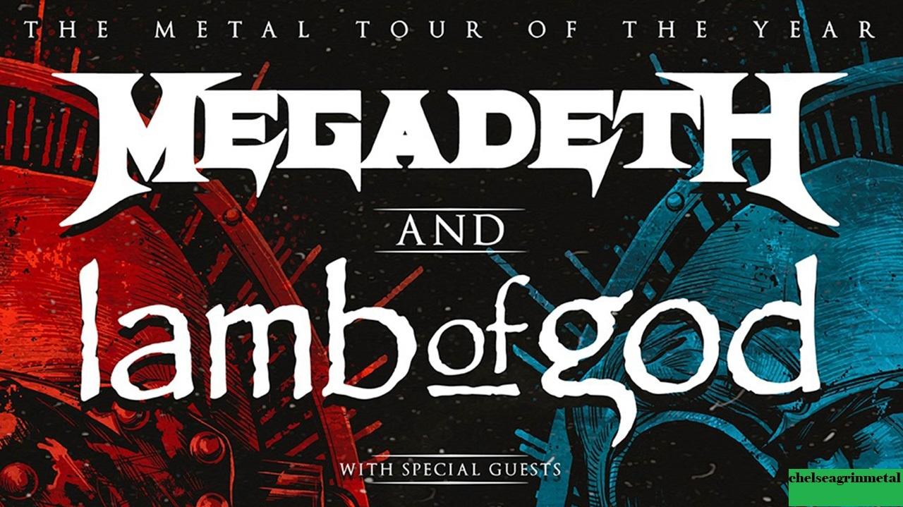 Megadeth dan Lamb Of God's Metal Tour of the Year kembali lagi